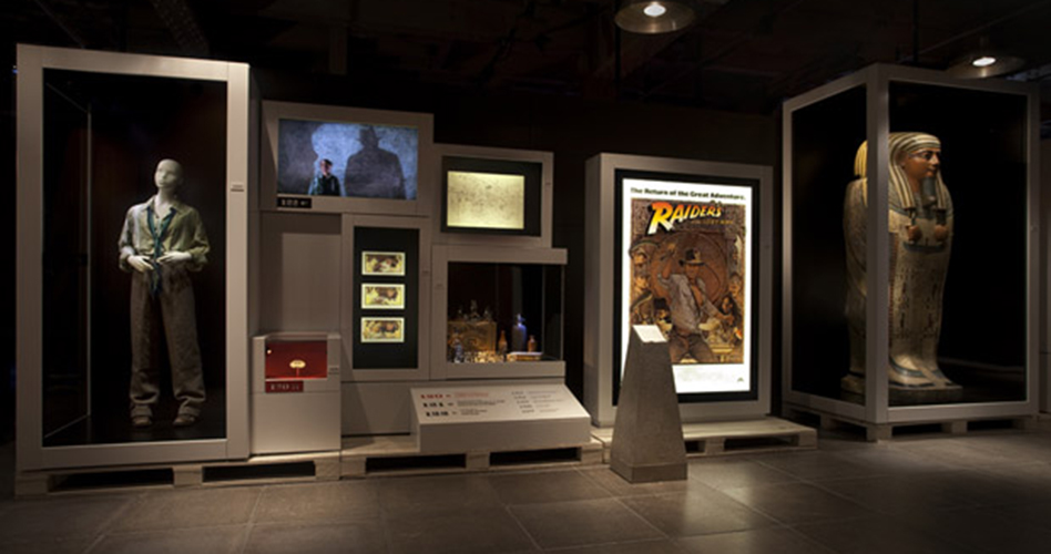columnists moviemom indiana jones exhibit national geographic