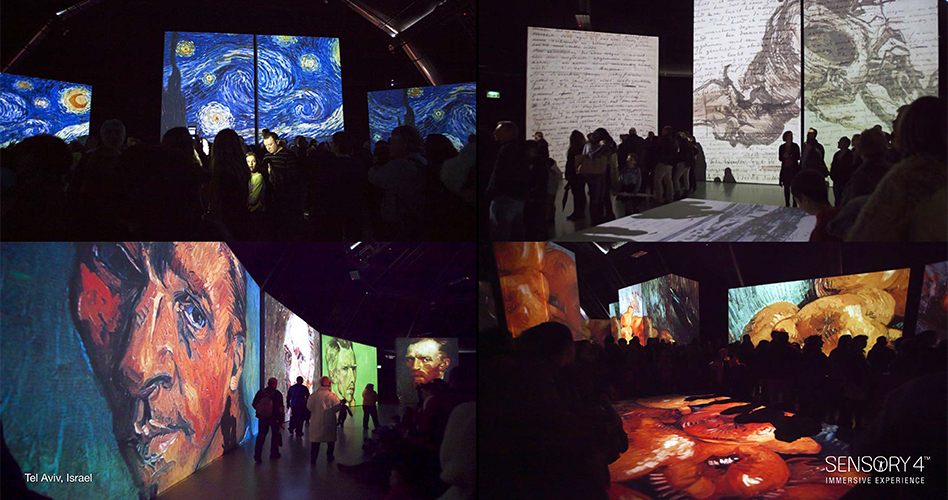 Image from Van Gogh Alive. Copyright Grande Exhibitions