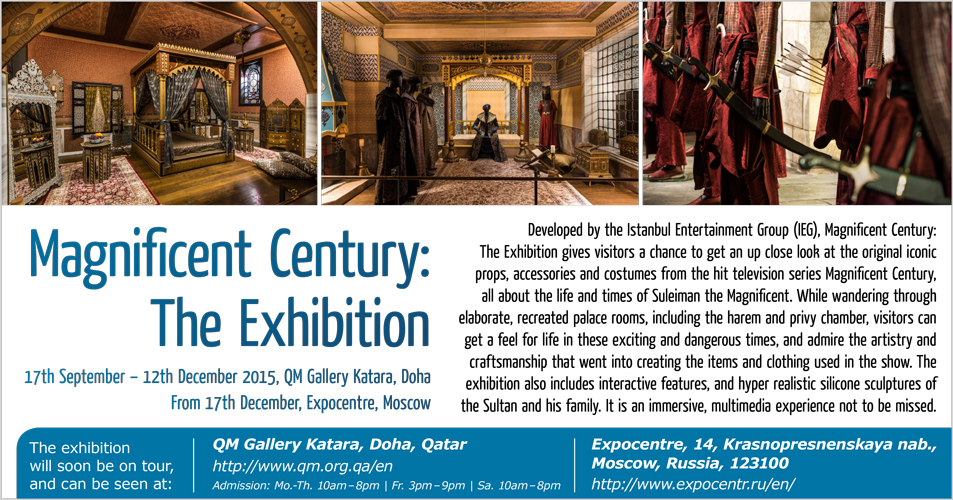 Magnificent Century: The Exhibition
