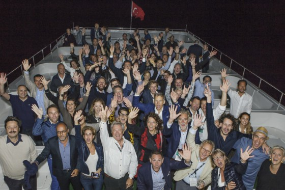 Bosphorus Boat Tour – The TEM Love Boat 2015